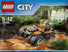 Набор LEGO 30355 Jungle ATV