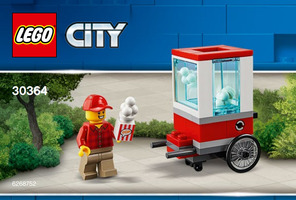 Набор LEGO 30364 City Popcorn Cart