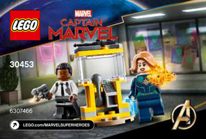Набор LEGO 30453 Captain Marvel and Nick Fury