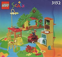 Набор LEGO 3152 Playroom for the Baby Thomas