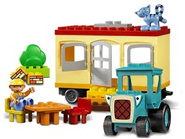 Набор LEGO 3296 Travis and the Mobile Caravan