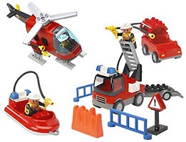 Набор LEGO 3657 Fire Fighters
