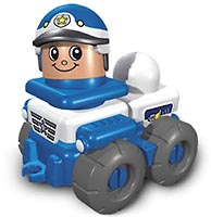 Набор LEGO 3698 Friendly Police Car