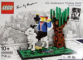 Набор LEGO 4000020 LEGO Inside Tour (LIT) Exclusive 2015 Edition - H.C. Andersen's 'Clumsy Hans'