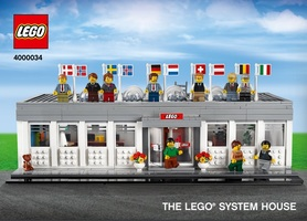 Набор LEGO 4000034 The LEGO System House