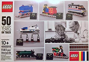 Набор LEGO 4002016 50 Years on Track