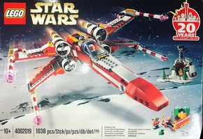 Набор LEGO 4002019 Yuletide Squadron Xmas-Wing Starfighter