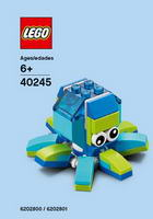 Набор LEGO 40245 Monthly Mini Model Build Set - 2017 07 July, Octopus