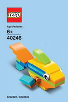 Набор LEGO 40246 Monthly Mini Model Build August 2017 - Rainbow Fish