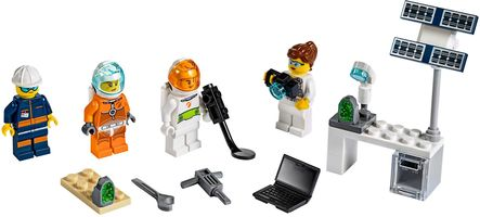 Набор LEGO 40345 Mars Exploration Minifigure Pack