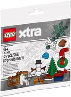 Набор LEGO 40368 Winter Accessories