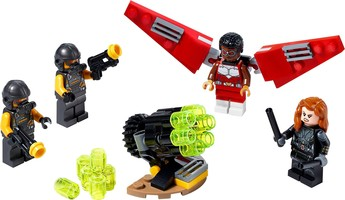 Набор LEGO 40418 Falcon & Black Widow Team Up