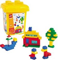 Набор LEGO 4087 Bucket XL Bunte Welte (Colorful World)