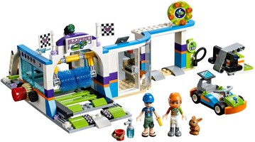 Набор LEGO 41350 Spinning Brushes Car Wash
