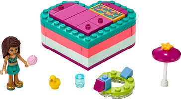 Набор LEGO 41384 Andrea's Summer Heart Box