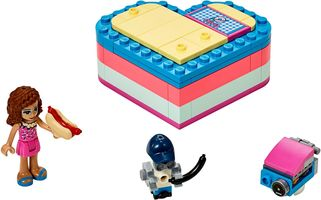 Набор LEGO 41387 Olivia's Summer Heart Box