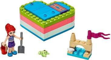 Набор LEGO 41388 Mia's Summer Heart Box