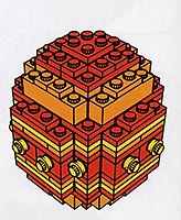 Набор LEGO 4212850 LEGO Stores Easter Opening Egg for 2004 - Orange