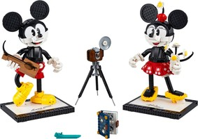 Набор LEGO 43179 Mickey Mouse & Minnie Mouse Buildable Characters