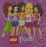 Набор LEGO 4659604 Friends notebook