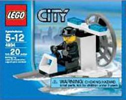 Набор LEGO 4934 Police Swamp Boat