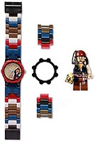 Набор LEGO 5000141 Pirates of the Caribbean Jack Sparrow with Minifigure Watch