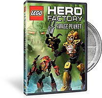 Набор LEGO 5000216 Hero Factory Savage Planet DVD