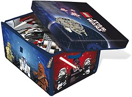 Набор LEGO 5001097 ZipBin Toy Box and Playmat