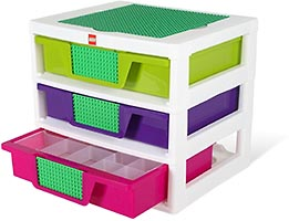 Набор LEGO 5001164 Girls 3-Drawer Storage Bin