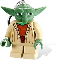 Набор LEGO 5001310 Yoda Light Key Chain