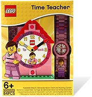 Набор LEGO LEGOВ® Time-Teacher Girl Minifigure Watch & Clock