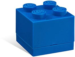 Набор LEGO 5001379 Mini box blue
