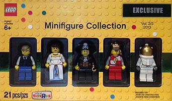 Набор LEGO 5002147 Minifigure Collection, Vol. 2/3 2013 (TRU Exclusive)