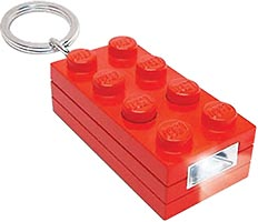 Набор LEGO 5002471 2x4 Brick Key Light (Red)