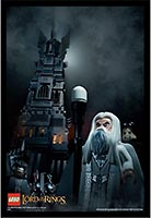 Набор LEGO 5002517 Tower of Orthanc Poster