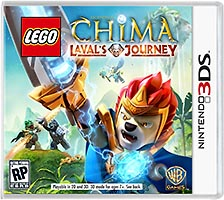 Набор LEGO 5002664 Legends of Chima Laval's Journey Nintendo 3DS Video Game