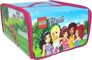 Набор LEGO 5002671 Friends ZipBin Toy Box