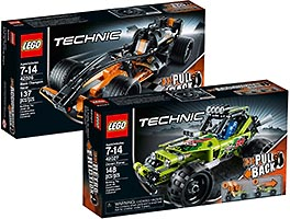 Набор LEGO 5004193 Technic Collection (42026, 42027)