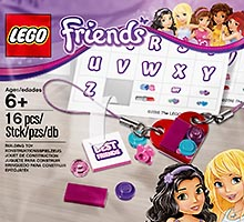 Набор LEGO 5004395 Jewellery and Sticker Pack