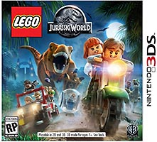 Набор LEGO 5004805 Jurassic World Nintendo 3DS Video Game