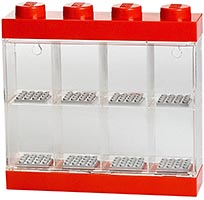 Набор LEGO 5004890 Minifigure Display Case 8 – Red