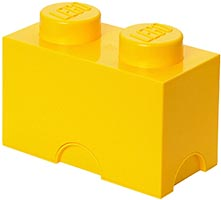 Набор LEGO 5004891 2 stud Yellow Storage Brick