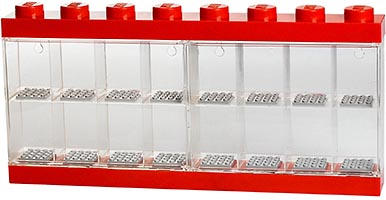 Набор LEGO 5004892 Minifigure Display Case 16 – Red