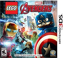 Набор LEGO 5005060 Marvel Avengers Nintendo 3DS Video Game