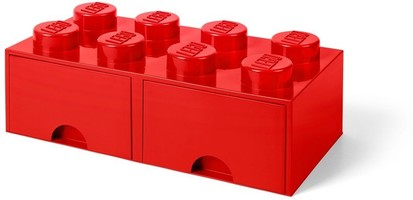Набор LEGO 5005398 8 stud Bright Red Storage Brick Drawer