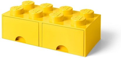 Набор LEGO 5005400 8 stud Bright Yellow Storage Brick Drawer