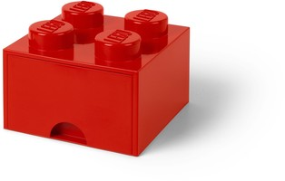 Набор LEGO 5005402 4 stud Bright Red Storage Brick Drawer