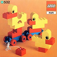 Набор LEGO 532 Pull-Along Ducks