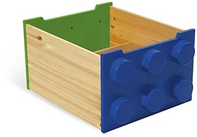 Набор LEGO 60031-2 Rolling Storage Box - Blue/Green