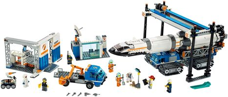 Набор LEGO 60229 Rocket Assembly & Transport